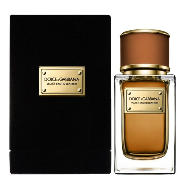 Dolce & Gabbana Velvet Collection Exotic Leather
