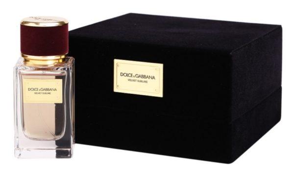 Dolce & Gabbana Velvet Collection Sublime