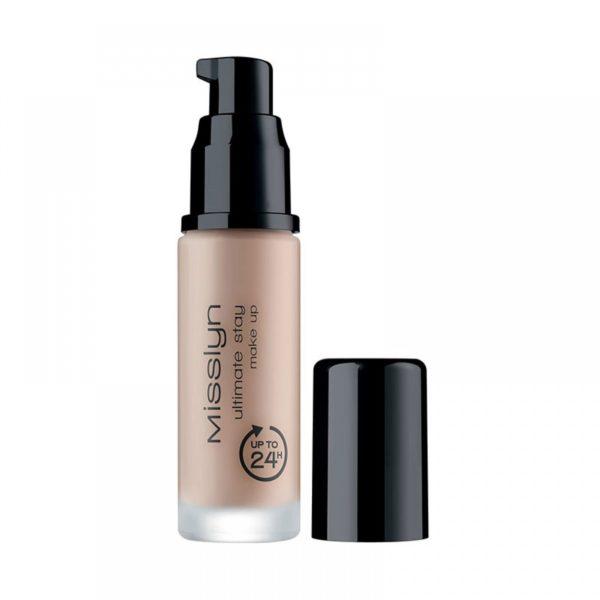 misslyn ultimate stay make up 225 medium beige rose