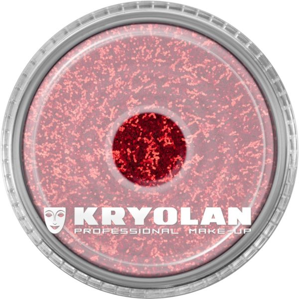 Kryolan Polyester Glimmer Medium Bright Red