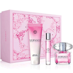 Versace bright crystal 90ml set