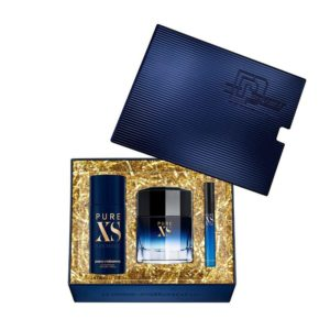 Pacco Rabanne Pure XS for him 100ml edt + 150ml deodorant spray + 10ml travel spray