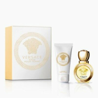 Versace Eros pour femme 30ml edt +50ml luxury body lotion