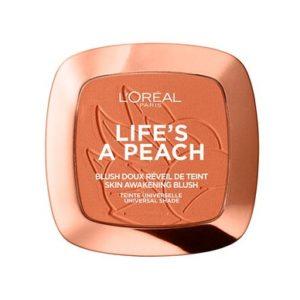 Blush Doux Reveil De Teint 01-Peach Addict
