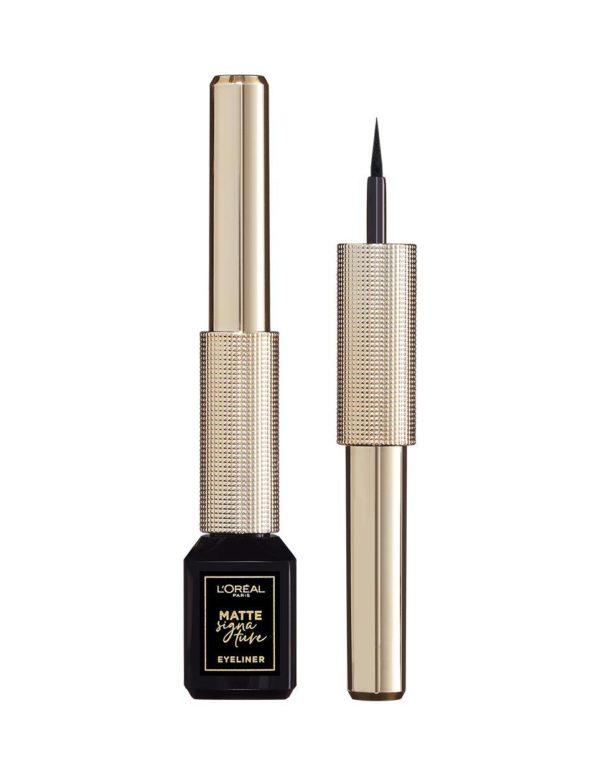 Eyeliner Matte Signature 01-Black Signature