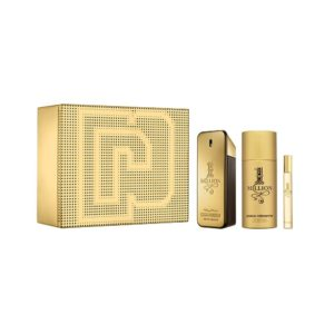 Paco Rabanne 1 Million 100ml edt + 150ml deodorant natural spray + 10ml travel spray