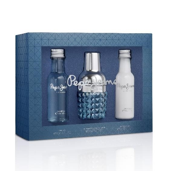 Pepe Jeans London 30ml edt + 50ml after shave balm + 50ml shower gel