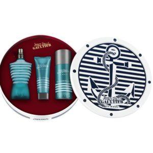 Jean Paul Gaultier Le Male 125ml edt + 75ml shower gel + 150ml deodorant natural spray