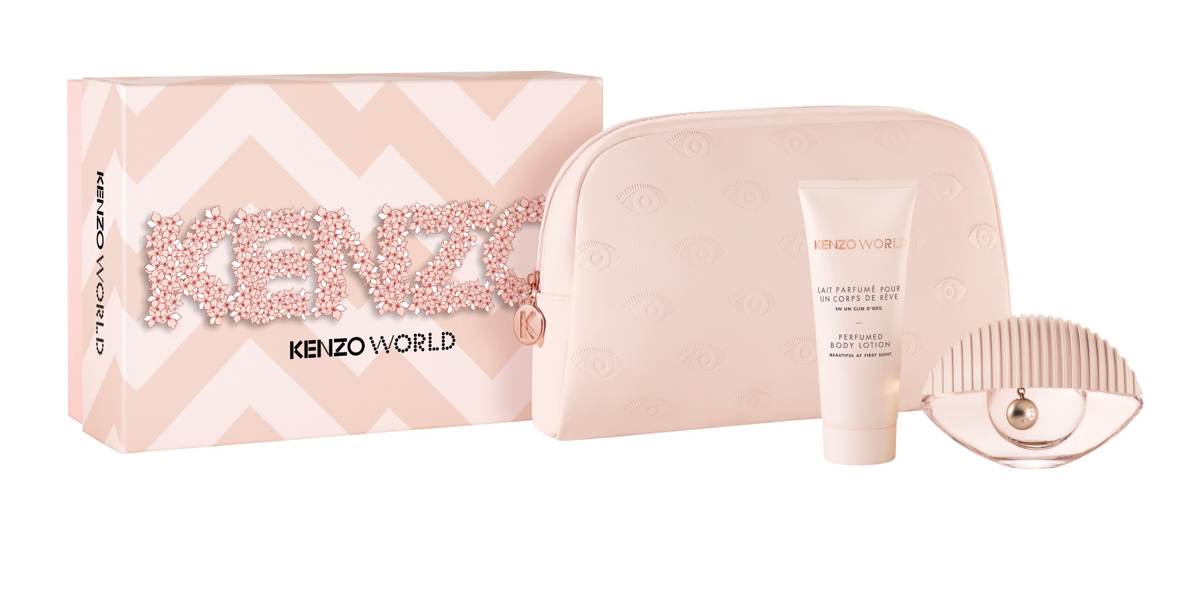 Kenzo Power 50ml edt + 75ml body lotion + beauty pouch