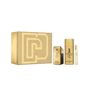 Paco Rabanne 1 Million 50ml edt + 150ml deodorant naural spray + 10ml travel spray