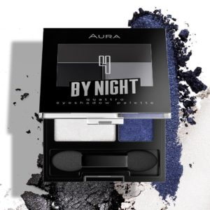 Aura quattro eyeshadow pallete By Night