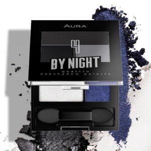 Aura quattro eyeshadow pallete By Night