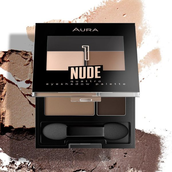 Aura quattro eyeshadow pallete Nude