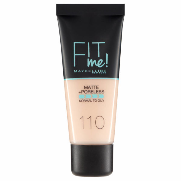 Maybelline Fit Me! Matte and Poreless Foundation 110