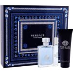 Versace Pour Homme 100ml edt + 10ml travel spray + 150ml hair & body shampoo