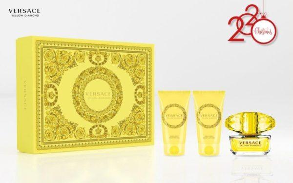 Versace Yellow Diamond 50ml edt + 50ml shower gel + 50ml body lotion