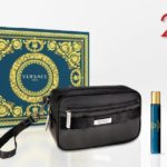 Versace Eros 100ml edt + 10ml travel spray + Versace Black Trousse