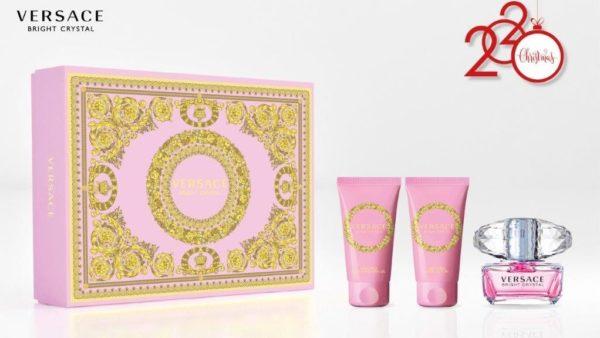 Bright Crystal 50ml edt + 50ml body lotion + 50ml shower gel