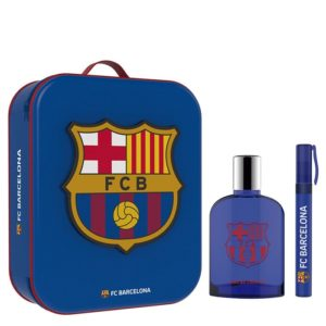 FCB Barcelona 100ml edt + toiletry bag + 10ml travel spray