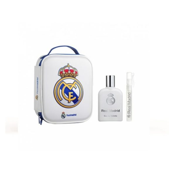 Real Madrid 100ml edt + toiletry bag + 10ml travel spray