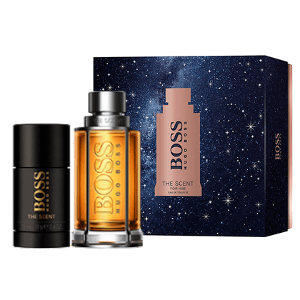 Boss the scent for him 50ml edt +75ml deodorant stick