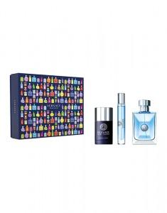 Versace Pour Homme edt 100ml + 10ml travel spray + 75ml deodorant stick