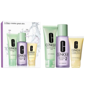 Clinique 3-Step Facial Cleansing System