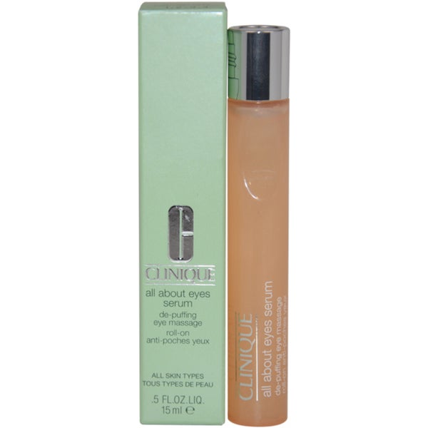 Clinique All About Eyes Serum Eye Massage Roll-On 15ml