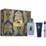 D&G King EDT 100ml + 10ml Travel Spray + After Shave
